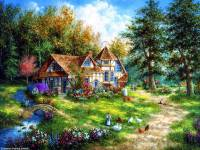 Online jigsaw puzzles painting BigPuzzle.net - free online jigsaw puzzles full screen games! Play free! Bigest online Puzzles with rotation options!