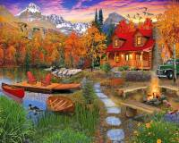 Online jigsaw puzzles landscape BigPuzzle.net - free online jigsaw puzzles full screen games! Play free! Bigest online Puzzles with rotation options!