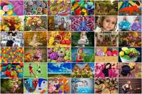 BigPuzzle.net - free online jigsaw puzzles full screen games! Play free! Bigest online Puzzles with rotation options!